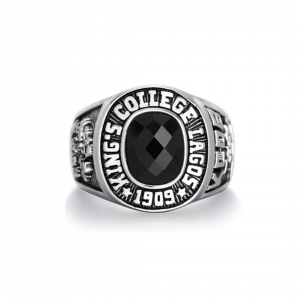 King's College Lagos Old Boys' 925 Sterling Silver Class Ring
